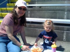 Pizza at the Ballgame