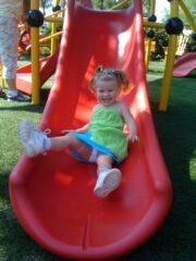Playing at Epcot