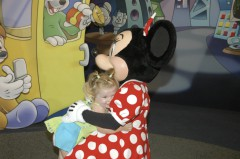 Minnie Mouse and Katie Beth