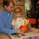 Carving the Pumpkin