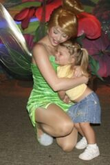 Tinker Bell and Katie Beth
