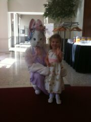 Easter Morning with the Easter Bunny