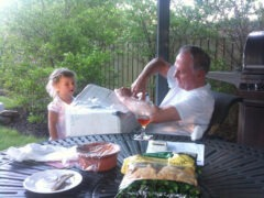 Father's Day with Grandfather