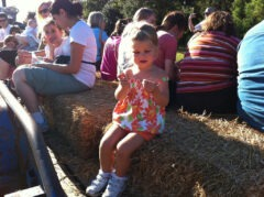 Hay Ride at Huntsville Botanical Garden