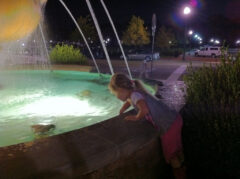 Providence Fountain and Katie Beth