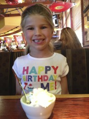 Katie Beth Turned 6 Today
