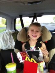 Happy Meal and Katie Beth