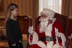 Chatting with Santa