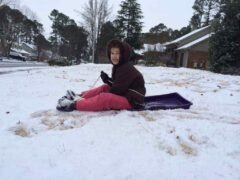 Snow and Sledding