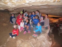 American Heritage Girls Rickwood Cavern Camping