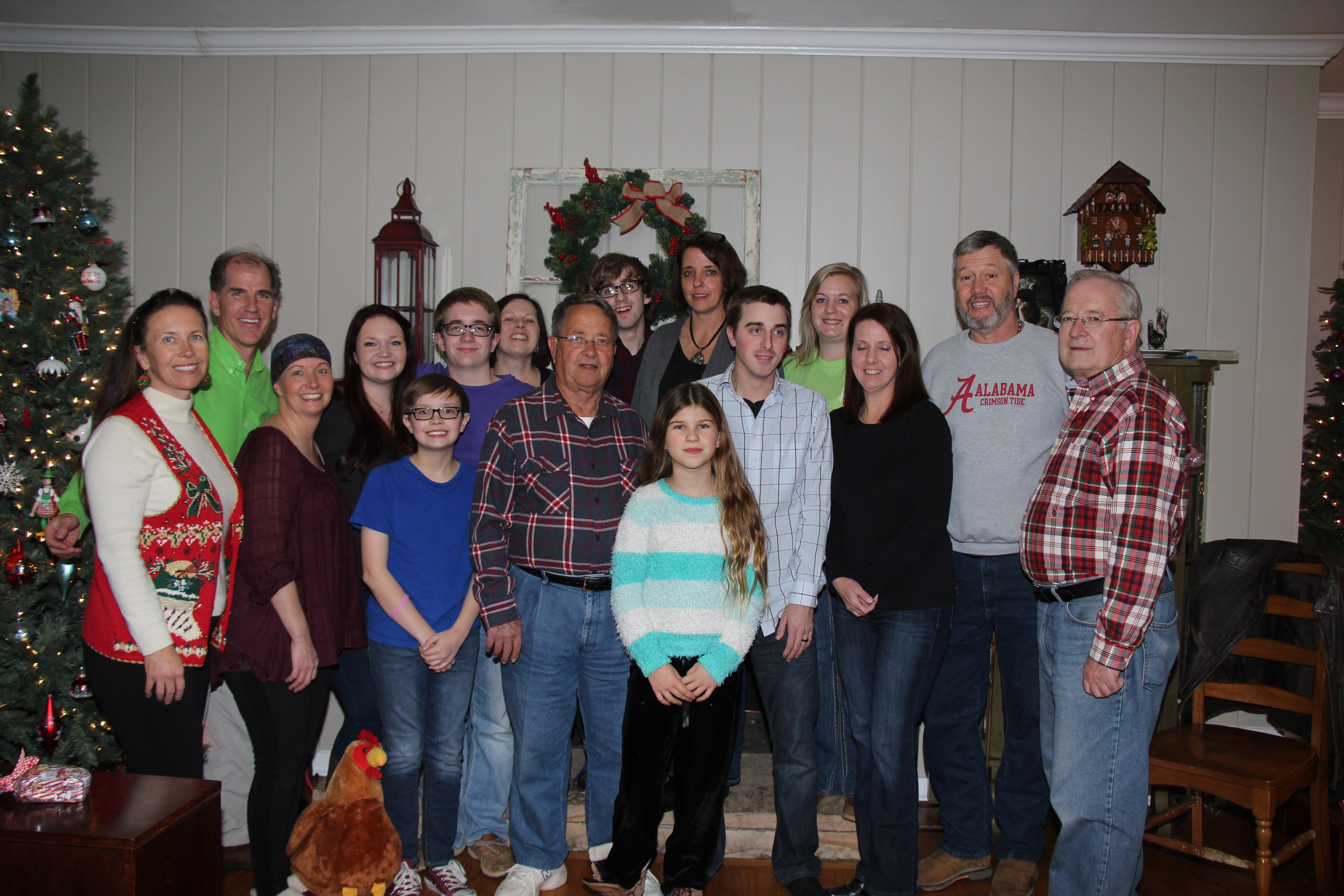 Ronning family Christmas