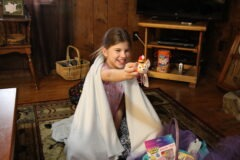 Katie Beth and her Easter Basket