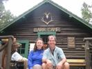 Karen Allen and Brian Allen at Barr Camp
