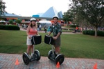 Trying out Segways